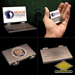 NGAUS 2020 laptop coin