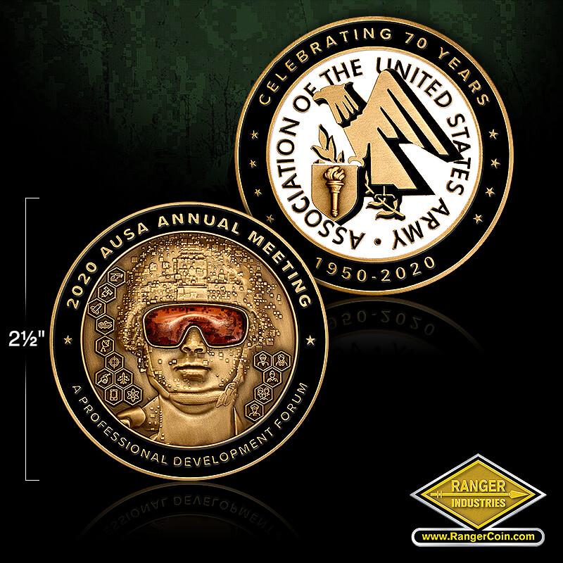 AUSA 2020 annual meeting coin