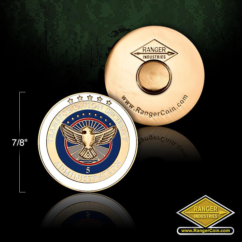 TSA 5 year  service pin