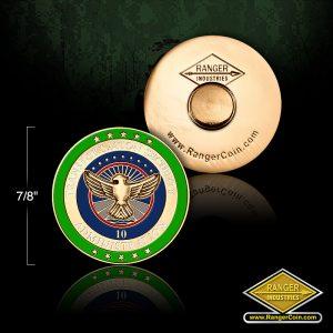 SC-6012 TSA 10 year service pin