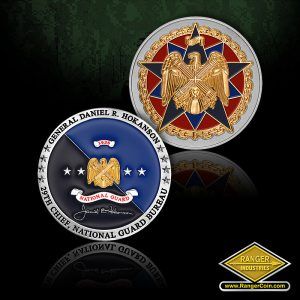NGB Chief GEN Hokanson Coins