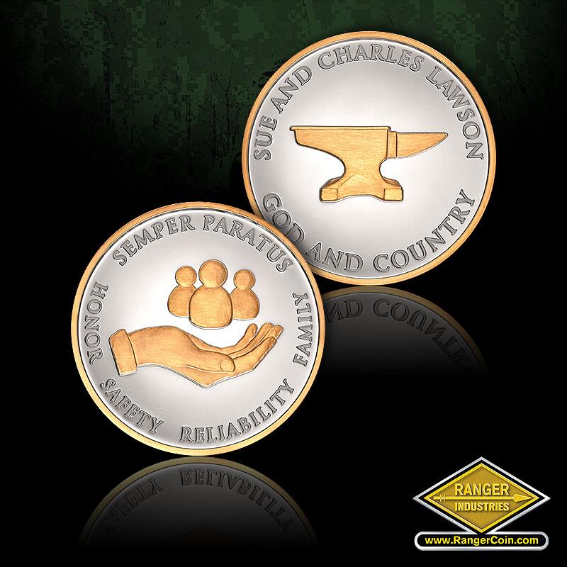 USCG Lawson Silver Coins