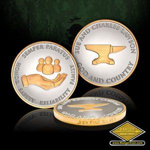 SC-7172 USCG Lawson Silver Coins
