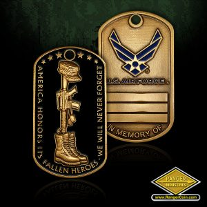RI-60646 Fallen Heroes Dog Tag – Air Force