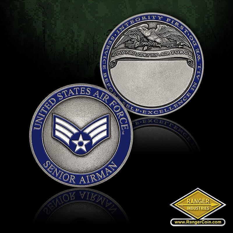 RI-76037 USAF Senior Airman - USAF Senior Airman