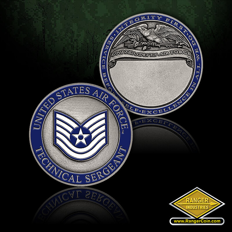RI-76039 USAF Technical Sergeant - USAF Technical Sergeant