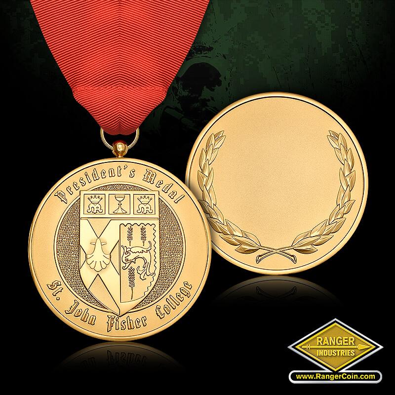 St. John Fisher - President's Medal, St. John Fisher College