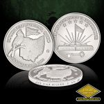 SC-3576 Village of South Bloomfield .999 Fine silver