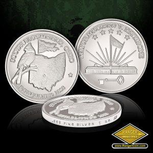 SC-3576 Village of South Bloomfield .999 Fine silver