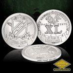 SC-6722 JCU 40th Anniversary Coins- pure silver