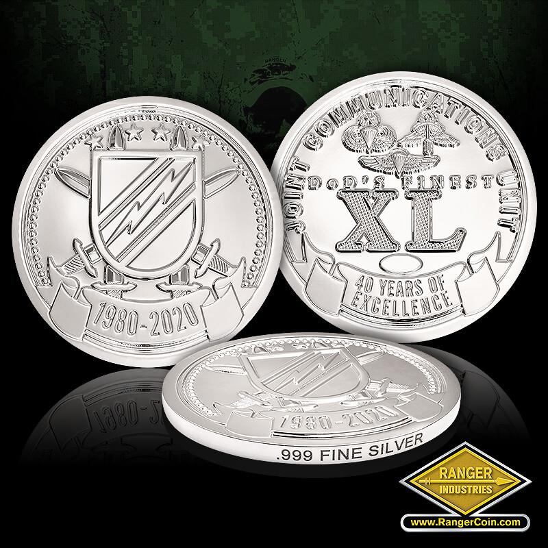 JCU 40th Anniversary Coins- pure silver