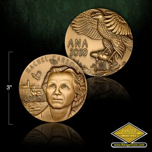 ANA Convention Medals 2.75 inch - Rachel Carson, ANA 2020