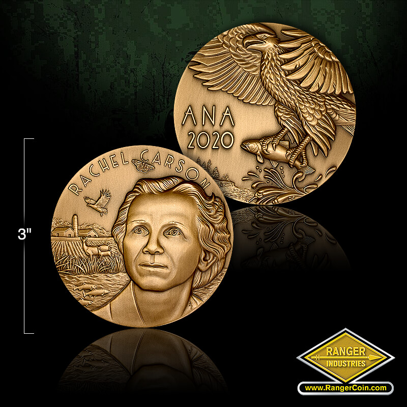 ANA Convention Medals 2.75 inch