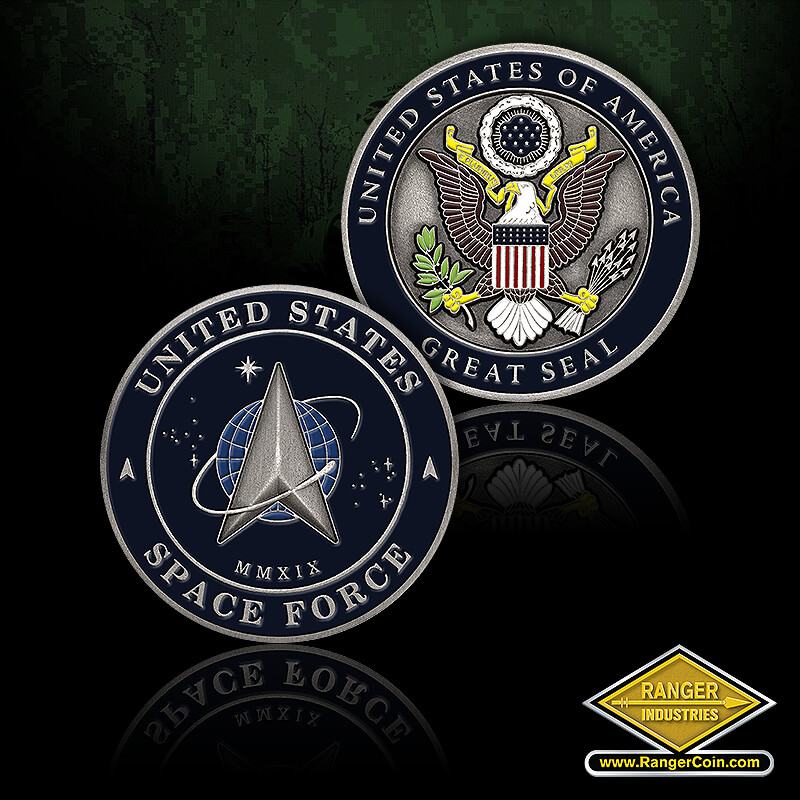 RZ0004 Space Force Great Seal