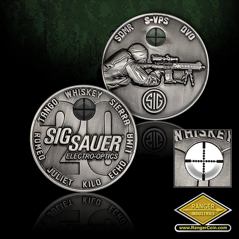 SIG SAUER Sniper coin