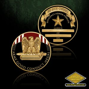 RI-13076 Army Good Conduct Service Medal Coin