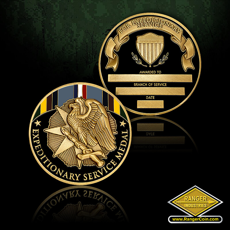RI-13079 Armed Forces Expeditionary Medal Coin