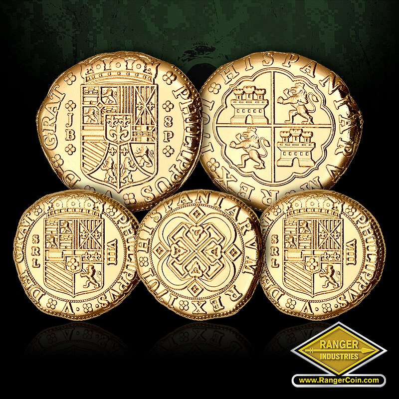 RI-52511 Pirate Doubloons - Pirate Doubloons