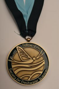 RC0077 Society for Freshwater Science Obverse - Fellow of the Society of Freshwater Science