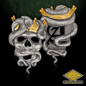 RC0147 Axemen Arizona snake coin