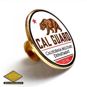 RZ0062 Cal Guard Lapel Pin