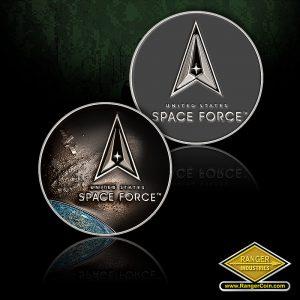 RZ0067 USSF galaxy blue coin