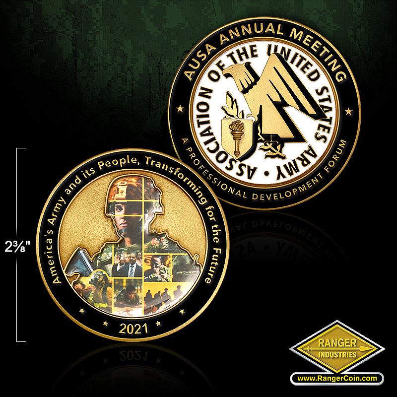 RZ0069 AUSA 2021 Medallion
